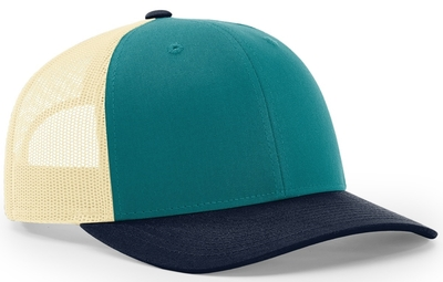Richardson 115 Low Profile Trucker Cap | Wholesale Blank Caps & Hats | CapWholesalers