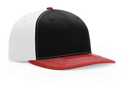 Richardson Hats: Wholesale Twill No Mesh Trucker Snapback Hat | CapWholesalers
