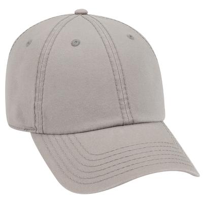 Garment Washed Cotton Canvas Six Panel Low Pro Dad Hat | Patriotic & Novelty Caps