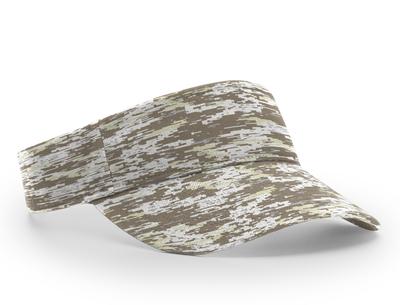 Richardson 848 Camo Adjustable Sun Visor | Wholesale Blank Caps & Hats | CapWholesalers