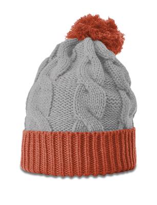 Richardson Hats: Wholesale Chunk Twist Knit Beanie W/Cuff | CapWholesalers