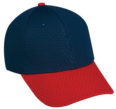 Outdoor 6 Panel Premium Jersey Mesh Cap   6 PANEL BASEBALL