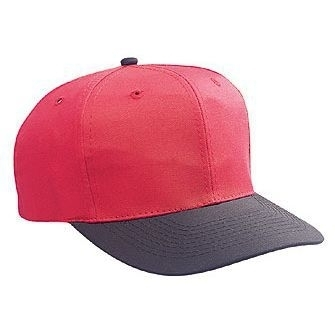 a868adfc145 Otto Cotton Blend Twill Six Panel Pro Style Baseball Cap