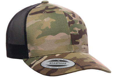 32b69a5e3a422e Yupoong Multicam Camo Retro Trucker Cap | Wholesale Caps & Hats From ...