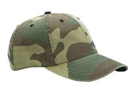 8b5ec80c5152d Mega Enzyme Washed Camouflage Cap