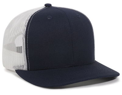 Outdoor Cotton Twill High Crown Mesh Back | Wholesale Blank Caps & Hats | CapWholesalers
