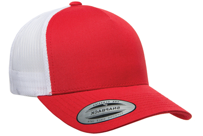 Yupoong 5-Panel Retro Trucker 2-Tone Wholesale - CapWholesalers