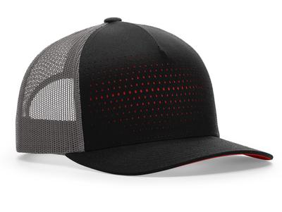 Richardson 163 Laser Cut Five Panel Trucker Cap   Wholesale Blank Caps & Hats   CapWholesalers