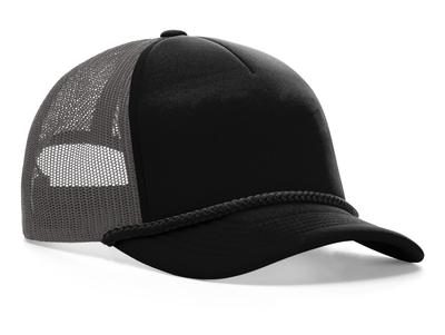 Richardson 213 5 Panel Low Profile Foamie Trucker Cap | Wholesale Blank Caps & Hats | CapWholesalers