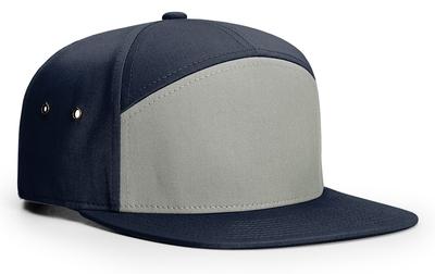 Richardson 7 Panel Twill Leather Strap Back Hat: Wholesale Pricing
