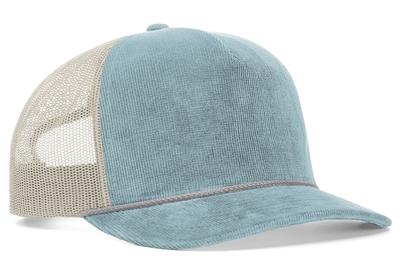 Richardson 930 Relaxed Cotton Corduroy Mesh Back Cap | Wholesale Blank Caps & Hats | CapWholesalers