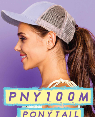 Outdoor Ladies Fit w/ Ponytail Mesh Back | Wholesale Blank Caps & Hats | CapWholesalers