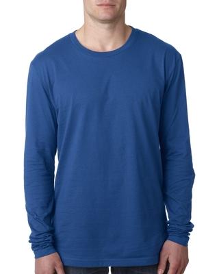 Next Level Mens Cotton Long-Sleeve Crew | Mens Long Sleeve Tee Shirts