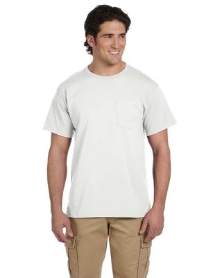 Jerzees Adult 5.6 oz. DRI-POWER ACTIVE Pocket T-Shirt   Mens Short Sleeve Tee Shirts