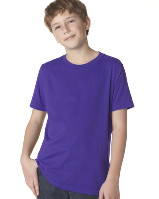 Next Level Youth Boys Cotton Crew | Alpha/Broder Apparel