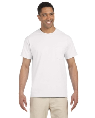Gildan Adult Ultra Cotton® 6 oz. Pocket T-Shirt | Mens Short Sleeve Tee Shirts