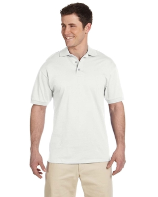 Jerzees Adult 6.1 oz. Heavyweight Cotton™ Jersey Polo | Mens Short Sleeve Sport Shirts