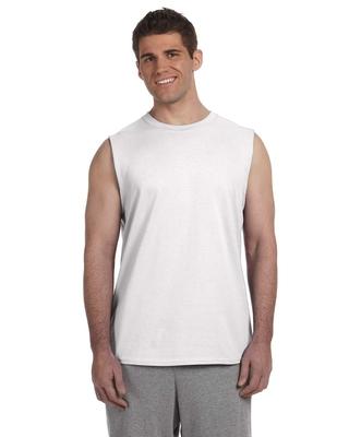 Gildan Adult Ultra Cotton® 6 oz. Sleeveless T/Shirt | Muscle Tee