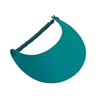 Fabric Foam Visor Elastic Back | Wholesale Blank Caps & Hats | CapWholesalers