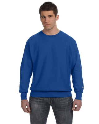 Champion Adult Reverse Weave® 12 oz. Crew   Mens Long Sleeve Tee Shirts