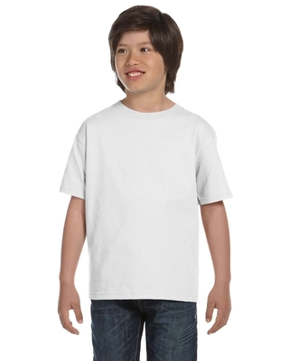 Gildan Youth 5.5 oz., 50/50 T-Shirt | Kids Short Sleeve Tees