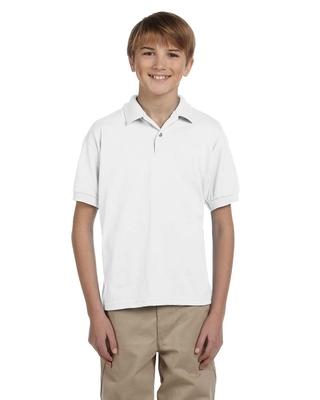 Gildan Youth 6 oz., 50/50 Jersey Polo | Kids Polo Shirts