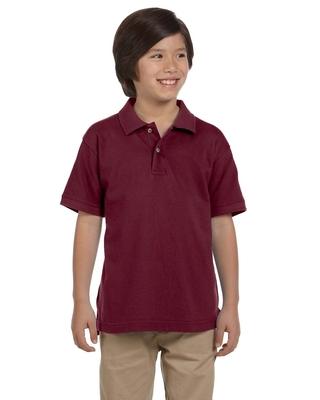 Harriton Youth 6 oz., Ringspun Cotton Piqué Short-Sleeve Polo   Kids Polo Shirts