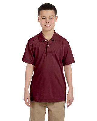 Harriton Youth 5.6 oz., Easy Blend™ Polo   Kids Polo Shirts