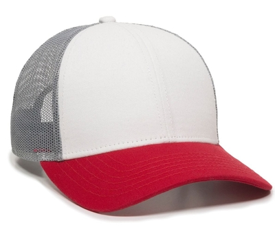 Outdoor OC770 Premium Low Profile Trucker Cap | Wholesale Blank Caps & Hats | CapWholesalers