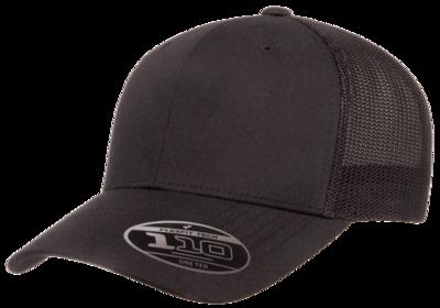 Flexfit 110R Recycled Trucker Mesh Snapback   Trucker Mesh Caps
