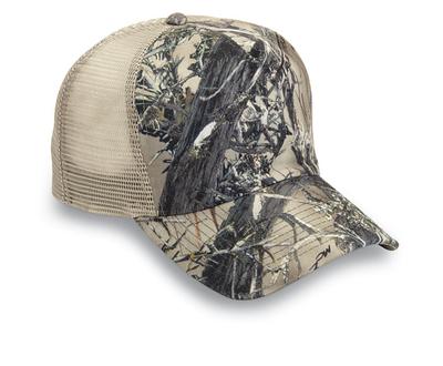 Cobra True Timber 5-Panel Trucker Mesh Camo | Wholesale Blank Caps & Hats | CapWholesalers