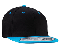 Image Flexfit Wool Blend Snap Back Flat Bill**NEW Stretches also has adjustable snap