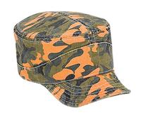 Image Camouflage Garment Washed Cotton Twill Flexible Soft Visor Military Style