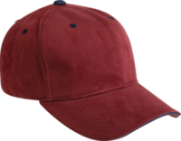 Image Yupoong-Brushed Cotton Twill Cap w/Sandwich Visor