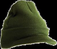 Image Yupoong-Knit Cuffed Watch Cap w/Visor