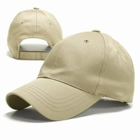 Image Blank Caps | Budget Caps : 6 Panel Constructed Twill Cap