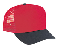 Image Cotton Twill Five Panel Pro Style Mesh Back