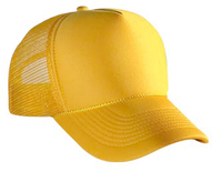 Image Polyester Foam Front Five Panel Pro Style Mesh Back