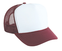 Image Polyester Foam Front High Crown Mesh Back