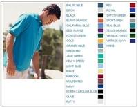 Image Jerzees 5.6 oz 50/50 Jersey Knit Polo with SpotShield Stain Resistance