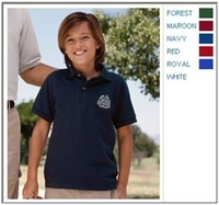 Image Jerzees 6.5 oz Cotton Pique Youth Polo