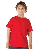 Image Blank Shirts : Hanes Youth 5.2 oz. ComfortSoft Cotton T-Shirt