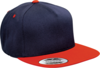 Image Yupoong-Classic 5 Panel Snapback Two Tone