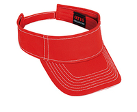 Image Otto-Superior Cotton Twill Sandwich Visor