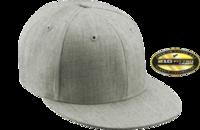 Image Yupoong Brand Flat Bill  210 Fitted Pro Baseball On-Field Shape