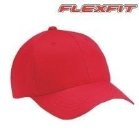 Image Yupoong Youth Flexfit Wool Mid Profile Cap