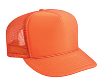 Image Youth Polyester Foam High Crown Golf Style Mesh Back