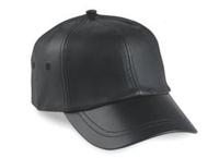 Image 6-Panel leather Cap