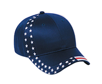 Image Otto-United States Flag Design Cotton Twill Low Profile Pro Style