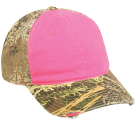 Image Outdoor Cap Frayed Ladies Camo